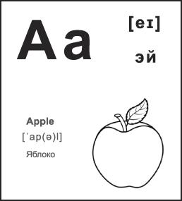 Карточки по английскому языку для печати на принтере