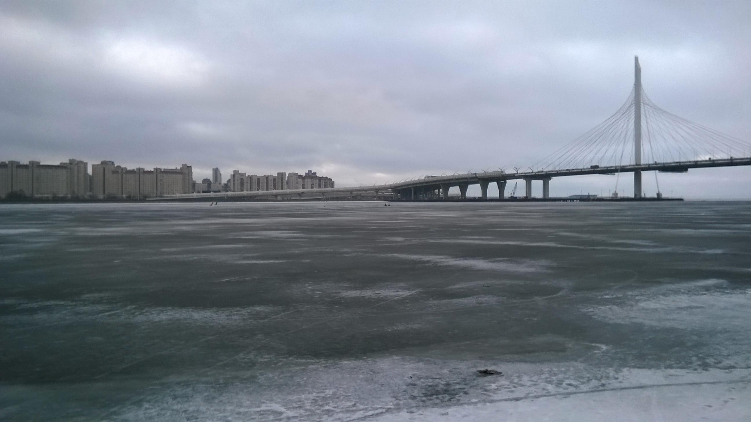 Финский залив весной