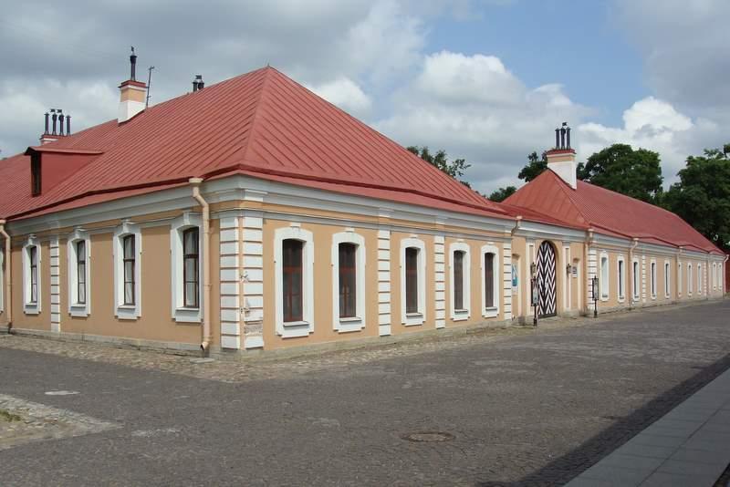 Инженерный дом Петропавловской крепости