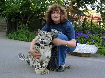барсенок в Ленинградском зоопарке