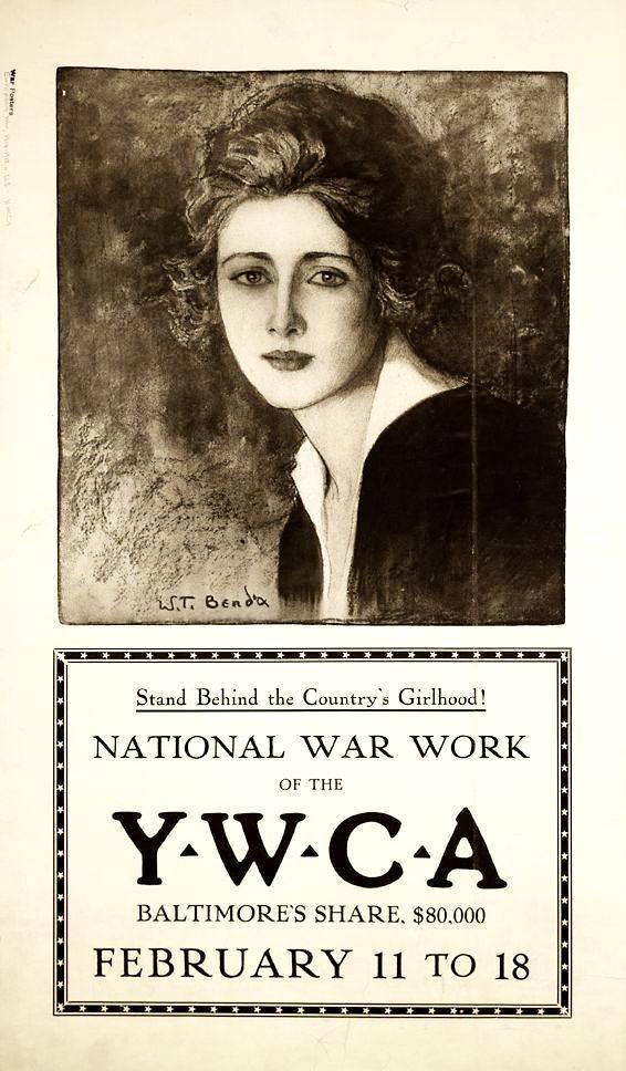 Агитационный плакат США времен I и II мировых войн