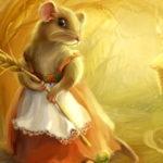 Как мыши муку делили